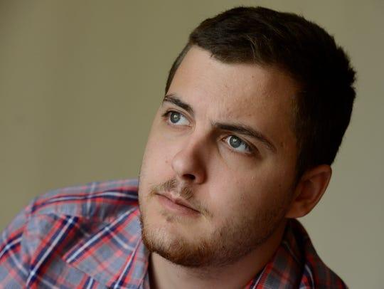 Zac Pogliano, then 22, of Baltimore, MD, was diagnosed