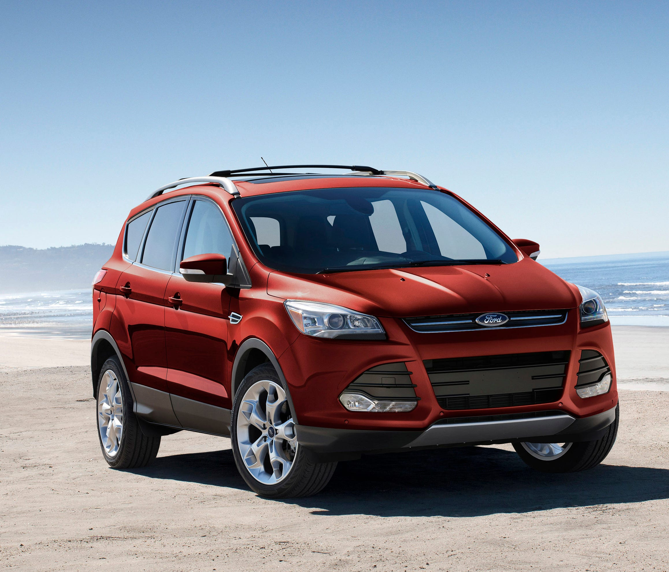 This undated photo provided by Ford shows a 2015 Ford Escape, one of the used Ford and Lincoln vehicles available through Canvas, a car subscription service created by Ford and now operating in Los Angeles and San Francisco. Car subscription services