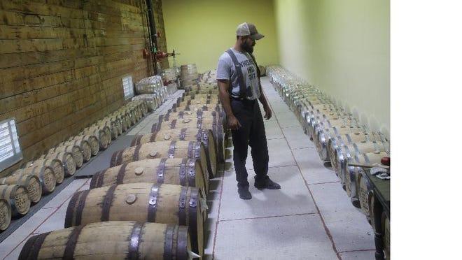 Noah Lirette of Bayou Terrebonne Distillers has helped create the White Boot Cleanup event on Bayou Terrebonne on Saturday.
