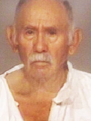 Ignacio Aguirre was arrested Tuesday morning in connection with the stabbing death of his 70-year-old wife, Delores Aguirre.