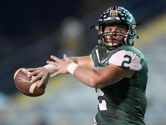 Greeneville's Cade Ballard has committed to Army.