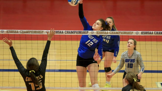 West Franklin senior Alex Coopman and her teammates received multiple postseason honors. The Falcons had representatives on the KVA all-state teams, eastern Kansas volleyball teams and all-league.