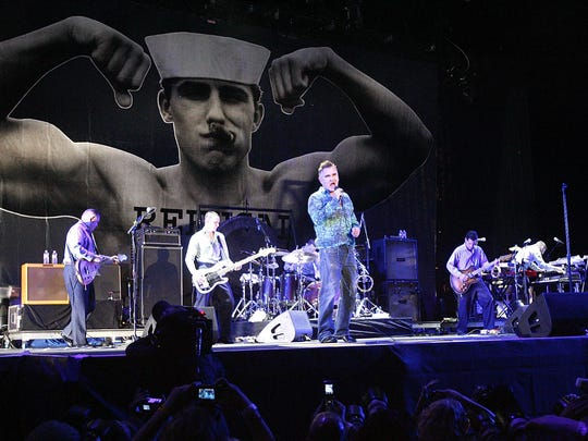 Morrissey performed Saturday, August 29, to a sold-out