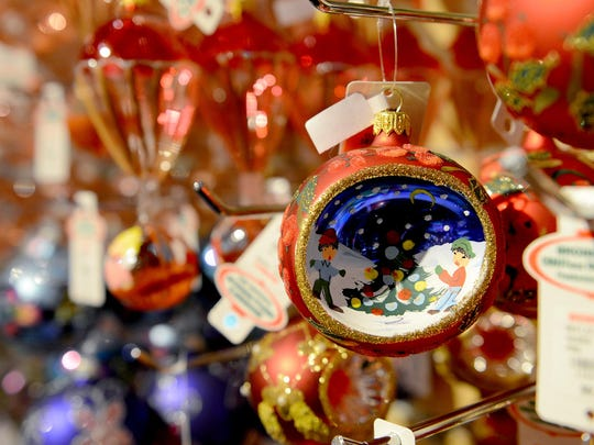 an ornament from europe sits in bronners christmas around the world display at bronners christmas wonderland friday december 11 2015 in frakenmuth