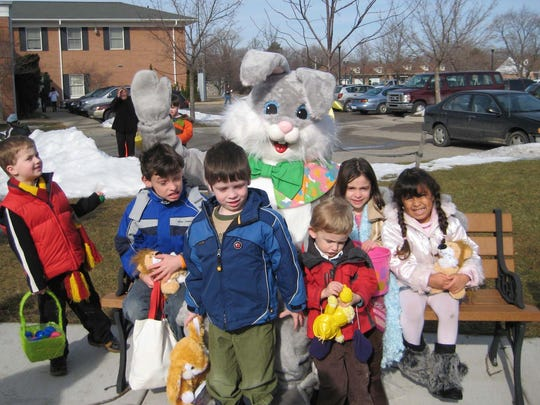 Breakfast with the Bunny in Lathrup Village winds up with an egg hunt and a chance to win prizes.