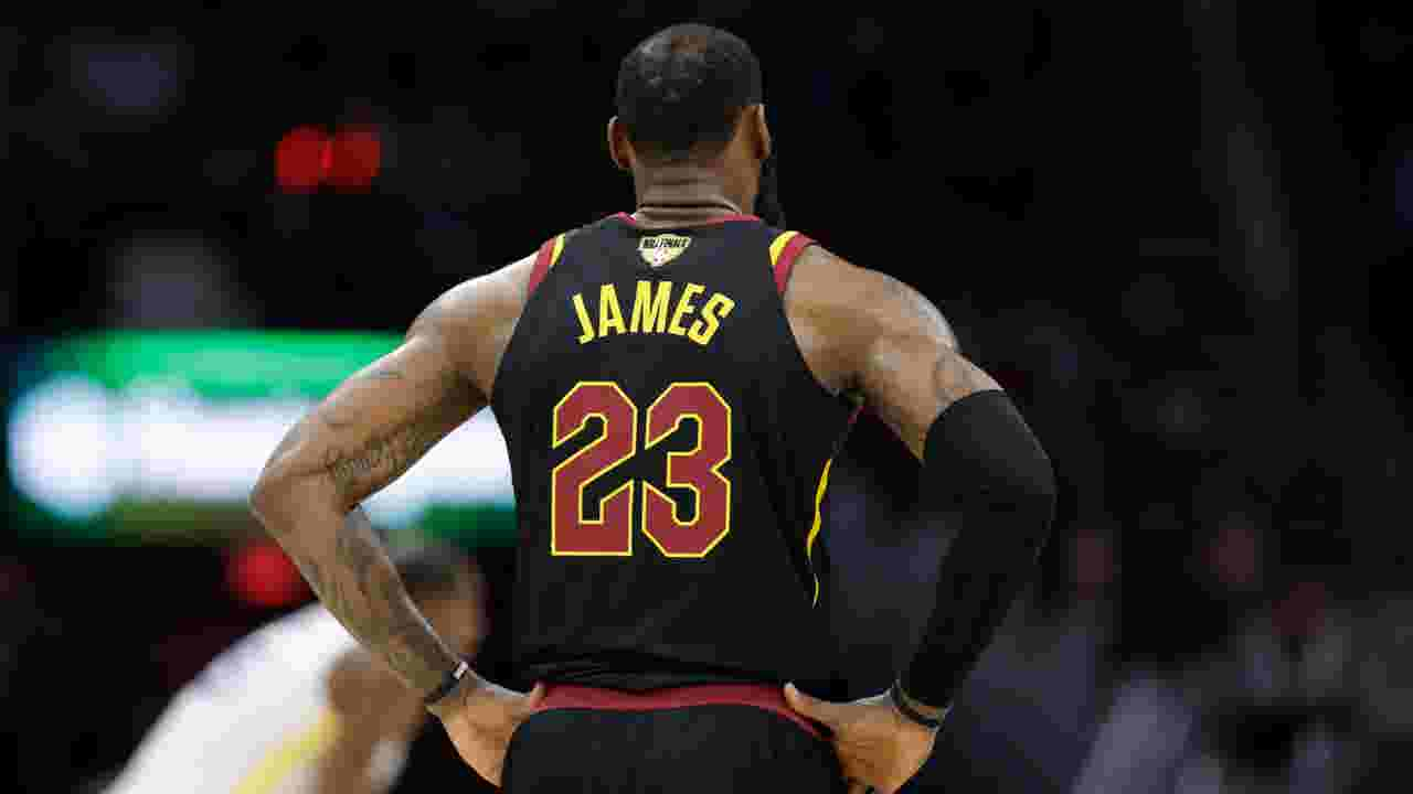 LeBron James will wear No. 23 with Lakers - but fans can t get his jersey  yet 55a75a32a1a6