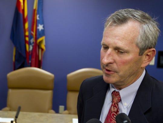 Former Maricopa County Board of Supervisor Andy Kunasek.