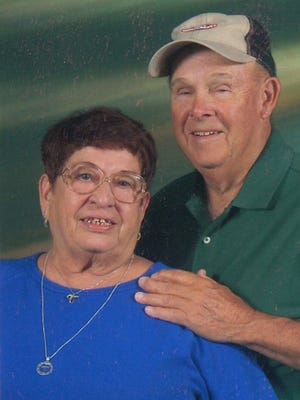 Frieda, 77, (L) and Robert, 79, (R) Brown celebrated their 50th wedding anniversary on Oct. 21, 2016. They were married in 1966 in Alamogordo at a friend's house, Frieda said. The former Frieda Sauter is a native of Germany. Bob is from Alabama. Bob is retired from the post office at Holloman Air Force Base.