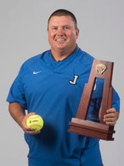 Brian Watson was the 2018 PNJ All-Area Softball Coach of the Year.
