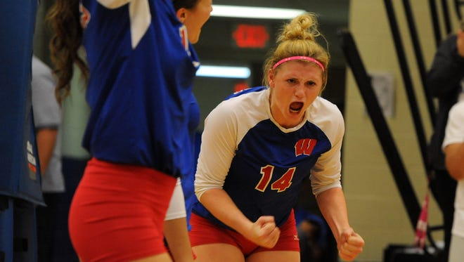 West Henderson junior Taylor Houck has committed to play college volleyball for Tennessee Tech.