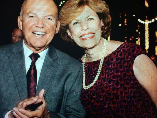 Carmen Berriz died in her husband Armando'ss arms Monday
