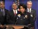 Phoenix Police Chief Jeri Williams announces an arrest