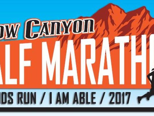 Snow Canyon Half Marathon logo 2017