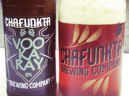 """Chafunkta's Voo Ka Ray IPA plays off of the French """"vieux carre."""""""