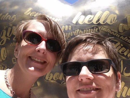 "Valori Vlist, 35, and Sarah Ozga, 37, will say ""I do"""