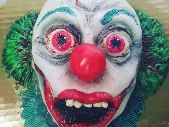 Don't look if you're afraid of clowns. This creepy