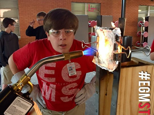 Elm Grove Middle School students enjoy the hands-on experiences STEM programs provide.