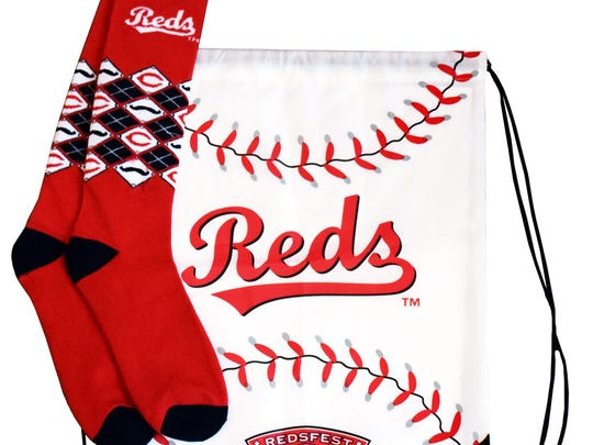 Giveaways for first 11,000 fans each day at Redsfest 2016.