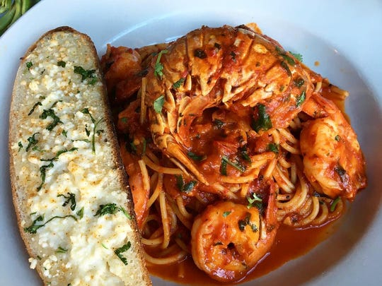From Capitoline in Asbury Park, shrimp and lobster