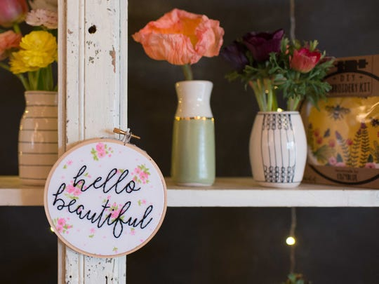 Catch the last few days of the East West Pop Up Shop, which began on Wednesday and ends on Sunday. The shop features arts, crafts and vintage items at an indoor market at 278 Haywood Road.