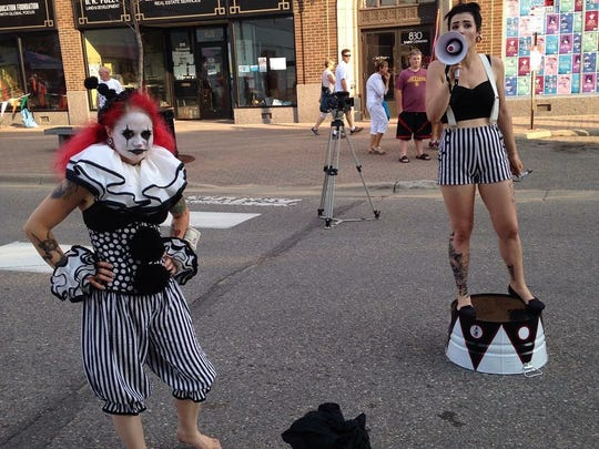 Look for extra entertainment at the Sizzling Summer Art Crawl on Aug. 11.