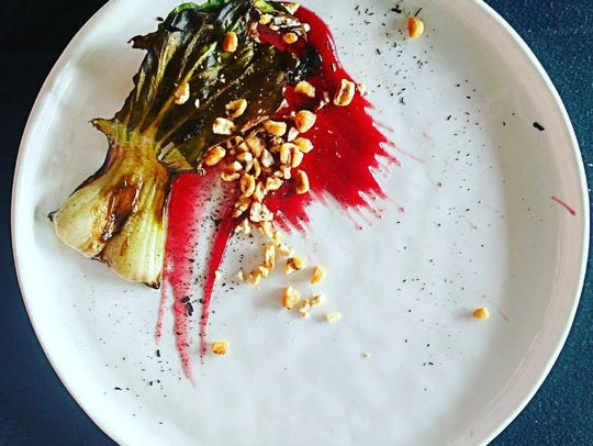 The new executive chef for Trostel's Dish, Jacob Demars, is known for his exquisite and striking presentations.