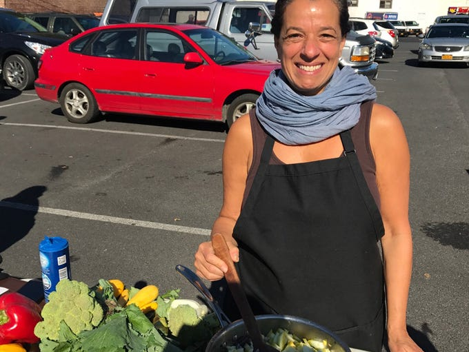 """I'm a nutritionist and Chef educator, and I was doing"