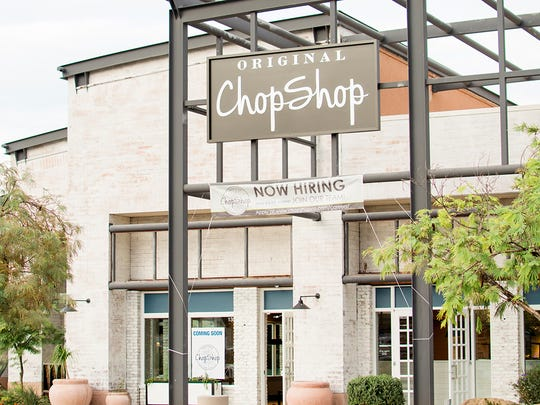 Original ChopShop of the new Paradise Valley location