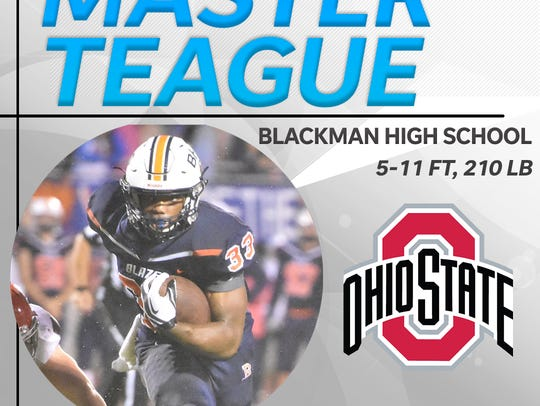 Master Teague signs with Ohio State.