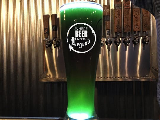Devil's Creek in Collingswood thinks it's easy to be green with this St. Paddy's Green Kolsch for $5.