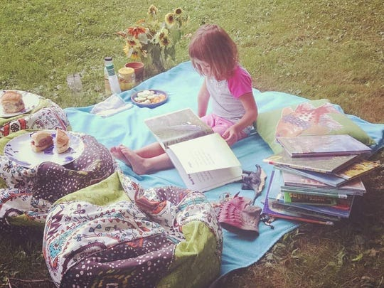 Peach Hill Park is a perfect spot for a family picnic.