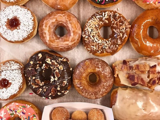 Assortment of donuts from Boxer Donut & Espresso Bar