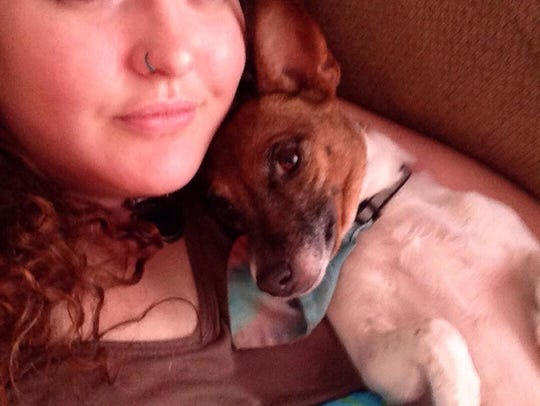 Dana Morse's dog Meagan Fox died from a gunshot wound.