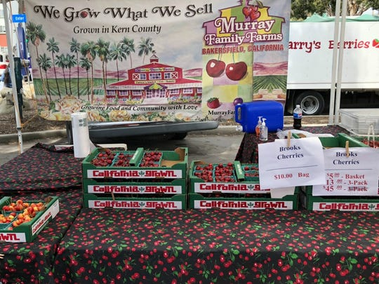 Ventura Farmers Market's Instagram is all about the cherries in season, with a shout-out to Murray Family Farms.