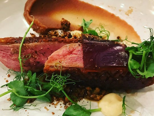 David Viana's duck breast is the #1 bestselling dish