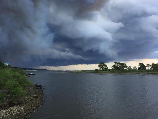 Eastpoint FL wildfire