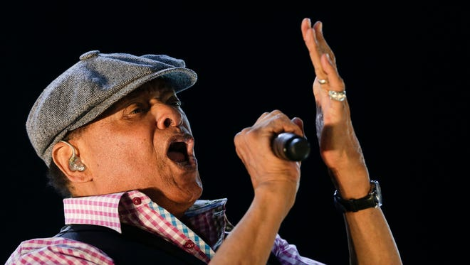 FILE - In this Sept. 27, 2015, file photo, Al Jarreau performs at the Rock in Rio music festival in Rio de Janeiro, Brazil. Jarreau died in a Los Angeles hospital Sunday, Feb. 12, 2017, according to his official Twitter account and website. (AP Photo/Felipe Dana, File)