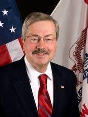 Gov. Terry Branstad.