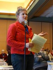 Columbia County Farmers Union President Mary Jo Borchardt
