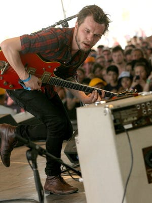 Kristian Matsson of the band The Tallest Man on Earth performs at the Coachella Valley Music & Arts Festival in 2011.