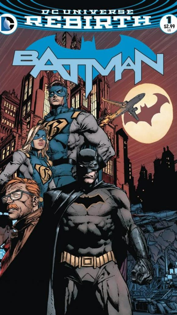Cover of Batman No. 1.