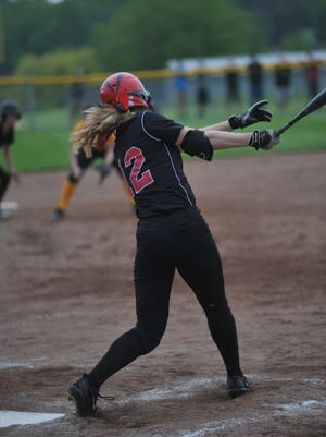 Crestview's Autumn Bailey returns after a standout freshman season on the softball diamond.