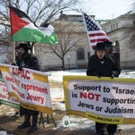 Protest against Israel in Washington on March 2.