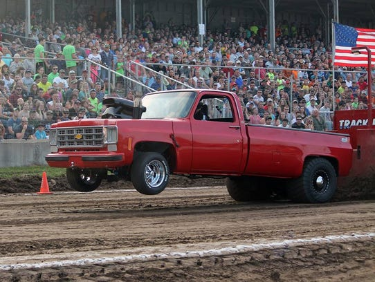 The Marshfield Parish Pull takes place at Central Wisconsin