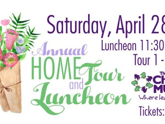The Annual Home Tour and Luncheon will take place Saturday.
