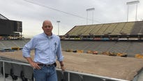 The third and final major phase of Sun Devil Stadium reconstruction has begun and like in 2016, it will be a race to the finish.