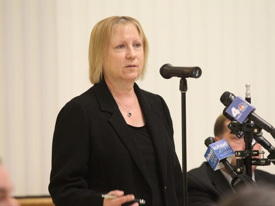 Diane Phillips, Director of the Rockland County Sewer