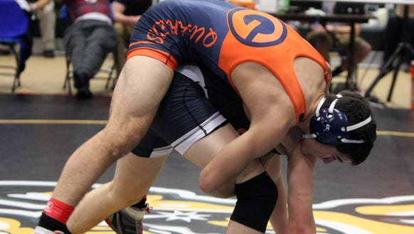 Aaron Wolk, Horace Greeley, top, defeated Sam Wolf,