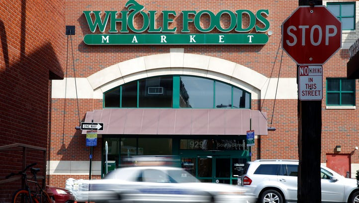 A Whole Foods store in Philadelphia. Whole Foods reported