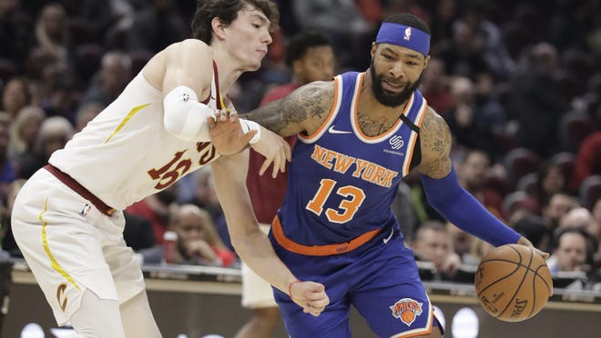Marcus Morris scored a team-high 26 points to help the Knicks win consecutive games for the first time since Dec. 28, 2019.